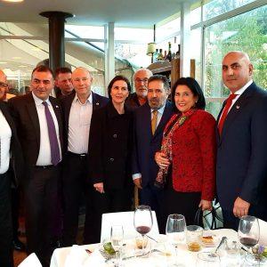 Ms. Salome Zourabichvili in her visit in Israel