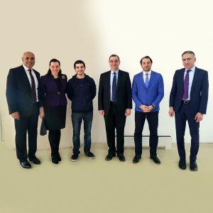IGCC Chairman Meni Benish with the current Georgian Minister of Education Mr. Mikheil Chkhenkeli